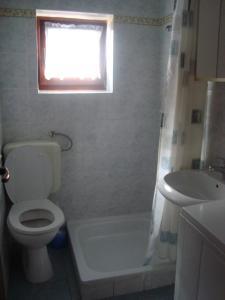 A bathroom at Apartments Sanja-Marino