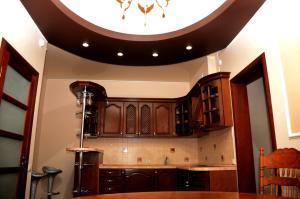 Кухня или мини-кухня в Hotel Borisoglebsk