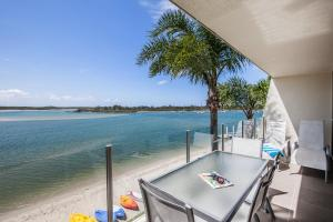 A balcony or terrace at Noosa Harbour Resort
