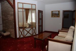 Гостиная зона в Hotel Borisoglebsk