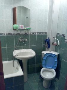 A bathroom at One-room Apartment na Oktyabr'skoi 43