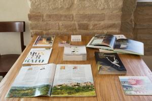 Der Geschäftsbereich oder Konferenzraum in der Unterkunft Agriturismo Cascina Cerola