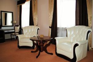 Гостиная зона в Отель Губернский