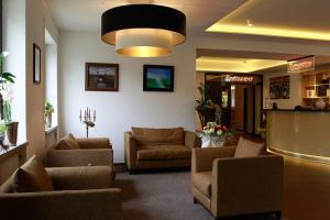 Lounge oder Bar in der Unterkunft Saterländer Hof