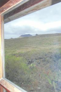 Vista general de una montaña o vista desde la habitación en casa particular
