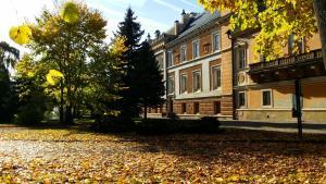 Zahrada ubytování Chateau Svetla nad Sazavou
