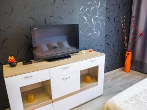 A television and/or entertainment center at Apartment on Leninskiy