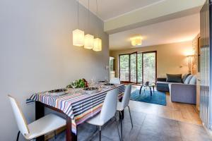 Część wypoczynkowa w obiekcie Rent a Flat apartments - Torunska St.