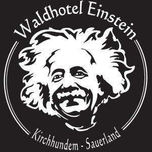 Ein Zertifikat, Auszeichnung, Logo oder anderes Dokument, das in der Unterkunft Waldhotel Einstein ausgestellt ist