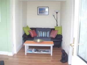 A seating area at The Apartment