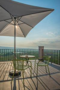 A balcony or terrace at Marixa