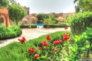 A garden outside La Perle Du Dades