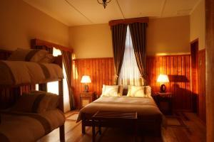 Una habitación en Hosteria el Arroyo