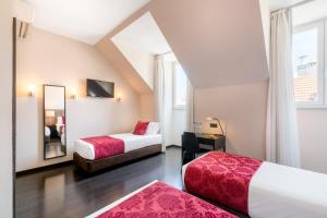 Rossio Garden Hotel tesisinde bir oda