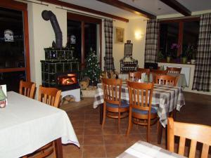 Restoranas ar kita vieta pavalgyti apgyvendinimo įstaigoje Penzión Biela Voda
