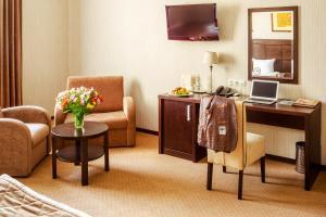 Зона вітальні в Taurus Hotel & SPA