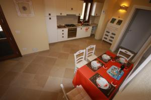 A kitchen or kitchenette at Le 9 Gocce Seaview Apartment