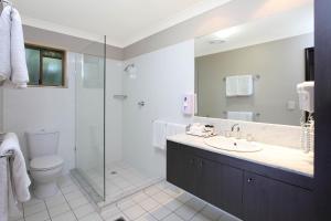 A bathroom at Brisbane International Virginia