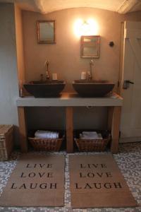Ein Badezimmer in der Unterkunft Op de Borgh