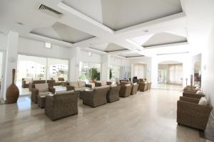 The lounge or bar area at Anastasia Hotel Apartments