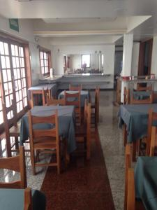 A restaurant or other place to eat at Hotel Jardim do Vale
