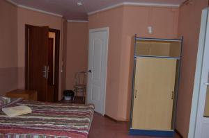 Кровать или кровати в номере Отель Екатерина