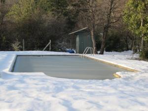 Techo nevado during the winter