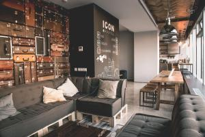Лаундж или бар в Хостел ICON