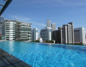 The swimming pool at or near Mercure Singapore Bugis (SG Clean)
