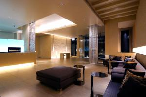 The lounge or bar area at HOTEL UNIZO Tokyo Shibuya