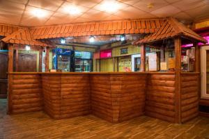 The lounge or bar area at Hotel Zastava