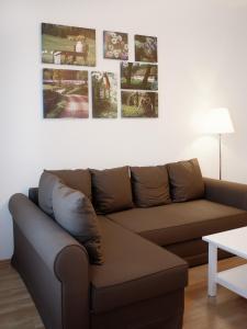 Lounge oder Bar in der Unterkunft City Park Apartments - #13-20 - Moderne Apartments & Suiten im Zentrum