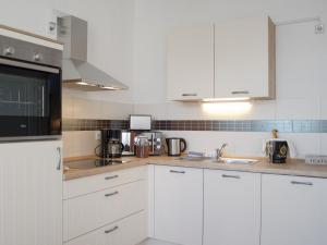 Küche/Küchenzeile in der Unterkunft City Park Apartments - #13-20 - Moderne Apartments & Suiten im Zentrum