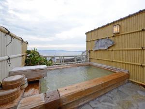 The swimming pool at or near Ryokan Yamadaya