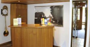 Lobby/Rezeption in der Unterkunft Hotel Rössli