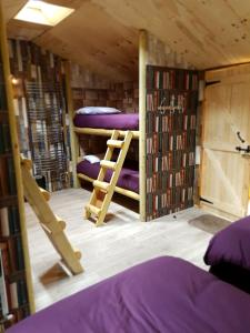 A bunk bed or bunk beds in a room at Strickland Arms