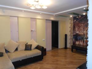 The lobby or reception area at Apartment on Lomonosova