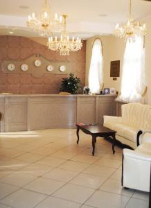 Лобби или стойка регистрации в Отель Губернский