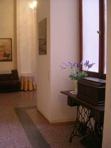 A television and/or entertainment center at Ascoli Antica B&B