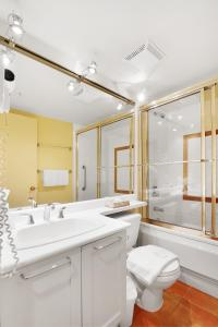 A bathroom at Whistler Village Centre by Elevate Vacations