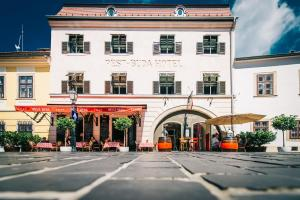 The facade or entrance of PEST-BUDA Design Hotel by Zsidai Hotels at Buda Castle