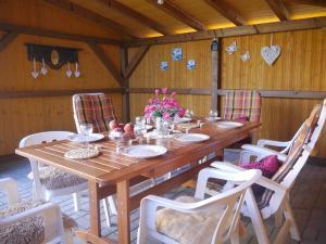 Restaurace v ubytování Villa Frymburk