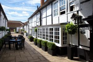 A porch or other outdoor area at The Talbot Inn