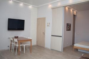 Гостиная зона в Apartment Shukshina