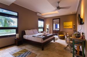 A room at Solo Villas & Retreat
