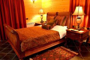 Ένα ή περισσότερα κρεβάτια σε δωμάτιο στο Xilino Horio