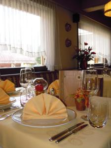 A restaurant or other place to eat at Hotel Orsingher