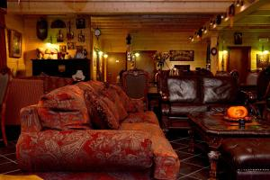 Ο χώρος του lounge ή του μπαρ στο Xilino Horio