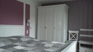 Ein Zimmer in der Unterkunft Ferienwohnung am Schweriner See