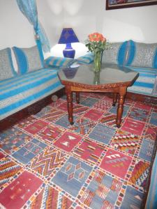 A seating area at Dar Yanis